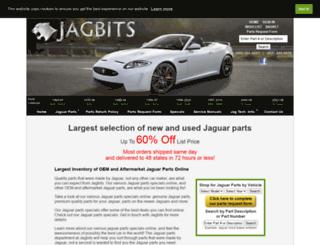 jaguar-parts.jagbits.com screenshot
