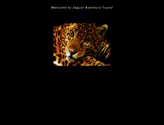 jaguaraventuratours.com screenshot
