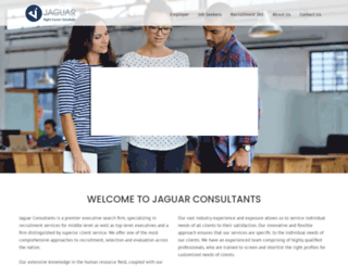 jaguarconsultants.in screenshot