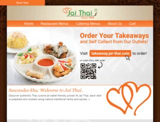 jai-thai.com screenshot