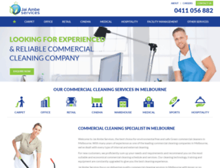 jaiambeservices.com.au screenshot