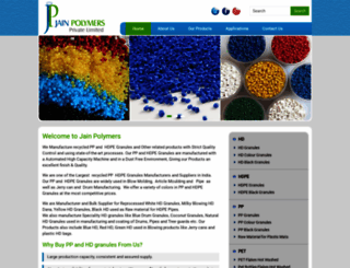 jainpolymer.com screenshot