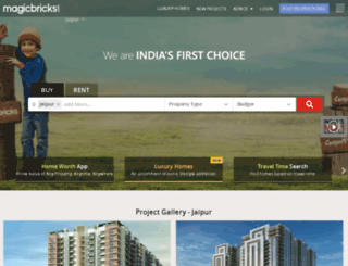 jaipur.magicbricks.com screenshot