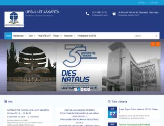 jakarta.ut.ac.id screenshot