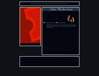 jakemcdorman.com screenshot
