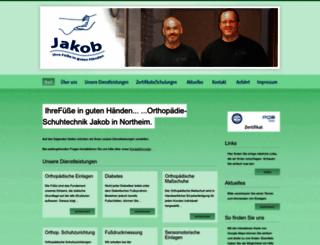 jakob-orthopaedie-schuhtechnik.de screenshot