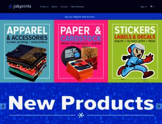 jakprints.com screenshot