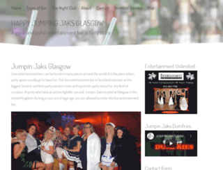 jaksglasgow.com screenshot