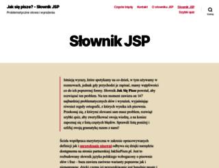 jaksiepisze.edu.pl screenshot
