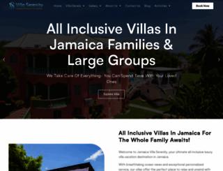 jamaicaoceanviewvilla.com screenshot