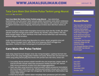 jamalsuliman.com screenshot