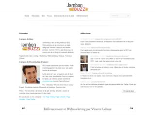 jambonbuzz.com screenshot