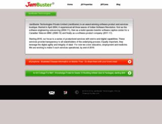 jambuster.in screenshot