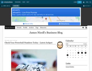james-nicoll.livejournal.com screenshot