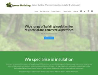 jamesbuildingsupplies.com.au screenshot