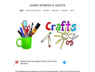jameshobbiescrafts.weebly.com screenshot