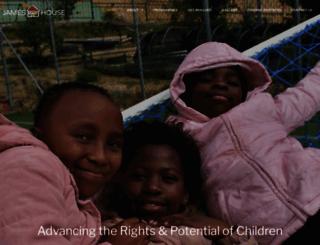 jameshouse.org.za screenshot