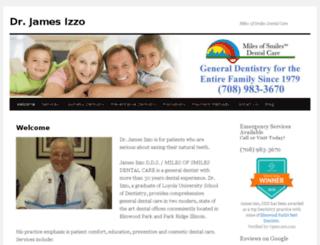jamesizzodds.com screenshot