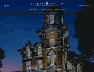 jamesleehouse.com screenshot