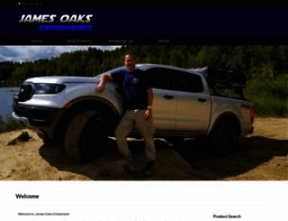 jamesoaksenterprises.com screenshot