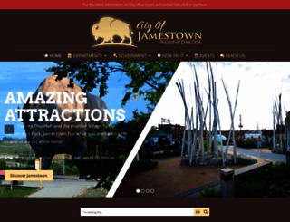 jamestownnd.org screenshot