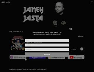 jameyjasta.com screenshot
