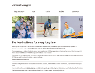 jamonholmgren.com screenshot