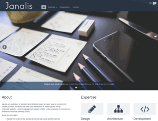 janalis.com screenshot