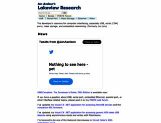 janaxelson.com screenshot