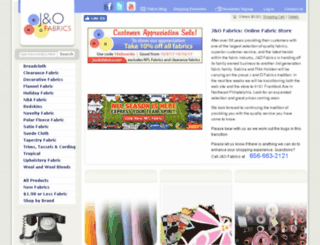 jandofabrics.com screenshot