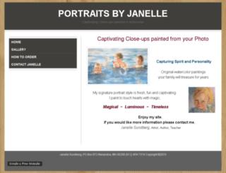 janellesundberg.webs.com screenshot