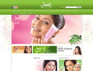 janet-ayurveda.com screenshot