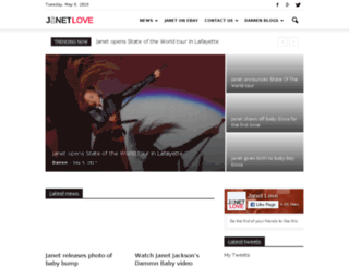 janet-xone.com screenshot