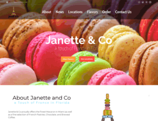janetteandco.com screenshot