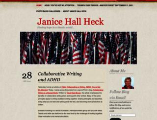 janiceheck.wordpress.com screenshot