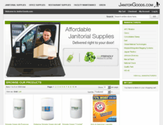 janitorgoods.com screenshot