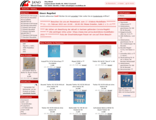 jano-modellbau.de screenshot