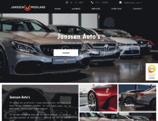 janssen-autos.nl screenshot