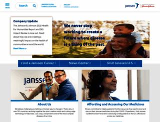 janssen.com screenshot