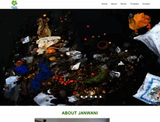 janwani.org screenshot