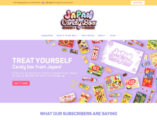 japancandybox.com screenshot
