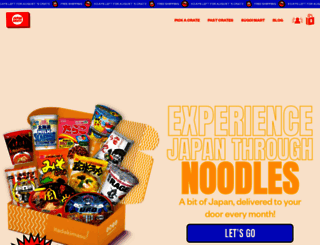 japancrate.com screenshot