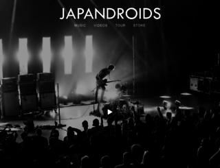 japandroids.com screenshot