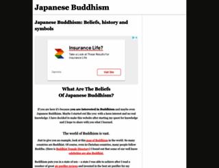 japanese-buddhism.com screenshot