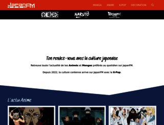 japanfm.fr screenshot