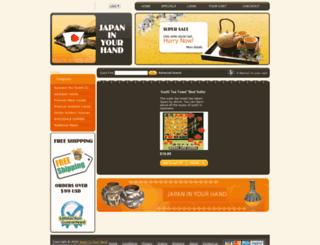 japaninyourhand.com screenshot