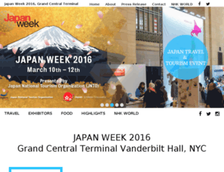japanweek.us screenshot