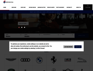 jardinemotors.co.uk screenshot