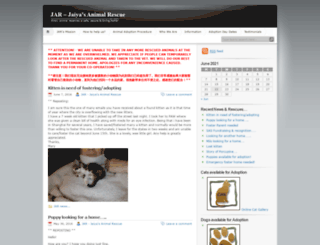 jarshanghai.wordpress.com screenshot
