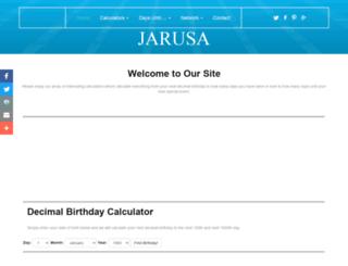 jarusa.com screenshot